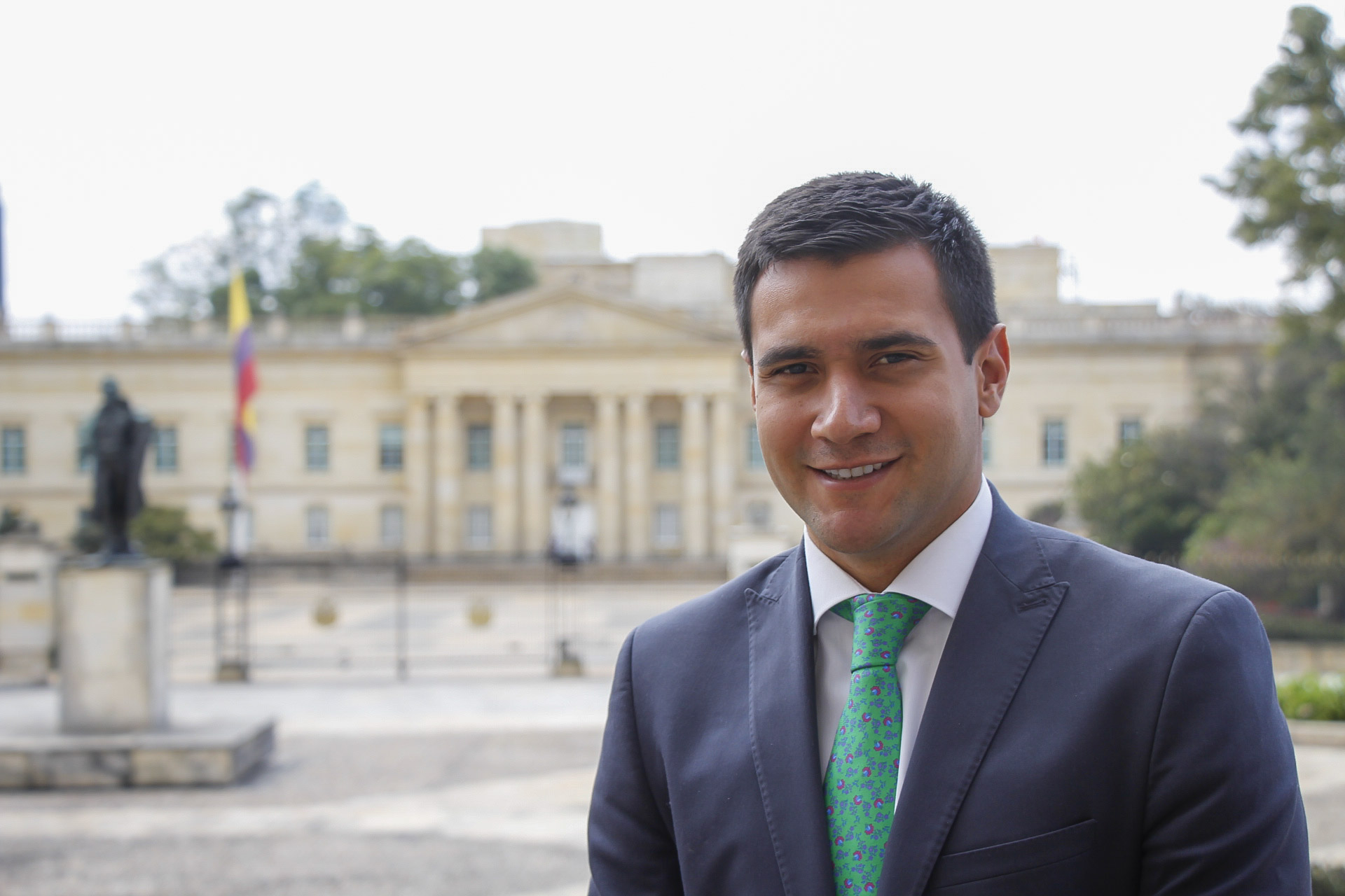 Asesor político Felipe Salcedo
